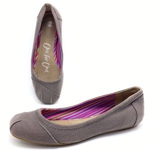 Toms Camila One For One 7 Ballet Flats Shoes